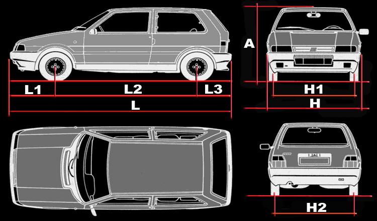 Dimensiones del fiat uno idea de imagen del coche for Dimensiones fiat idea